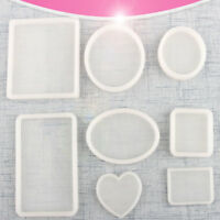 Silicone Clear Mold Polymer Clay Resin Casting Craft Jewelry Making Mould DIY