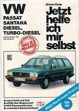 VW Passat Diesel Santana ab 1980 Jetzt helfe ich mir selbst Reparaturanleitung