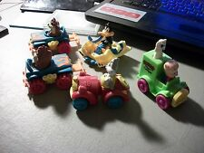 LOT OF 5 1992 WARNER BROTHERS LOONEY TONES PLASTIC CARS