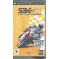 SBK 07 Superbike World Championship Video Game Psp Black Bean Sealed