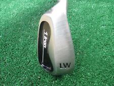 "Golf 1 Iron Golf System Left Hand Lob Wedge Oversize Lamkin Grip Stiff Steel 37"""