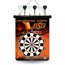 OKLAHOMA STATE COWBOYS TEAM DART BOARD SET NIP WITH DARTS NCAA NEW IN PACKAGE!