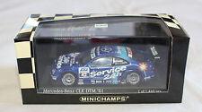 Minichamps 400013742 Darren Turner 2001 Mercedes CLK DTM Team Rosberg 1:43