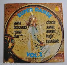 SUPER DANCE / DANSE Vol.3 LP Record Sexy Record Cover