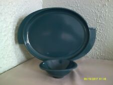 Vintage - Boontonware - Dark Green 2 piece lot