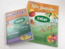 Your Baby Can Speak Italian 4 Disc Video/Audio Set and Activity Book