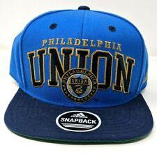 MLS Philadelphia Union Blue Adidas Original Snapback Baseball Hat Cap NEW