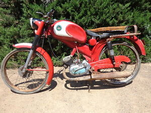 Derbi 49 of 1963 original moped derbi first moldelo