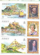 Jersey-Castles-Royalty mnh set (2004)mnh