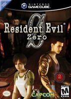 Resident Evil Zero Nintendo Gamecube Game Only