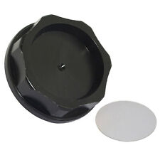CNC Aluminum Power Engine Oil Filler Fuel Cap Cover Black For HONDA ACURA