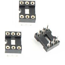 10 Pcs 6 PIN Round DIP IC Sockets Adaptor Narrow NEW