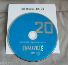 (1) NEW Smallville Season 4 Disc 2 Replacement DVD (Disc 20) - Single Disc