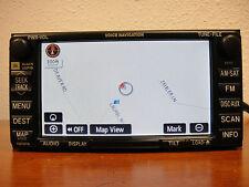 2004-2009 TOYOTA SIENNA, SOLARA, 4 RUNNER OEM JBL NAVIGATION GPS NAV E7007