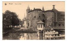 Porte de Gand - Bruges Photo Postcard c1910