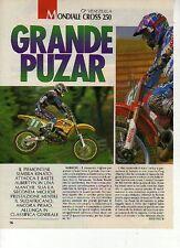 W13 Ritaglio Clipping 1993 Mondiale Cross 250 GP Venezuela Alex Puzar