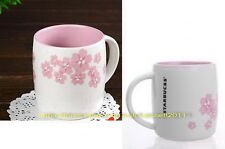 LIMITED 2011 STARBUCKS SAKURA PINK CHERRY BLOSSOM COFFEE TEA MUG CUP 12OZ/355ML