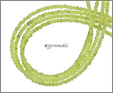 "15.5"" Olive Jade / Serpentine Round Seed Beads 2mm #68040"