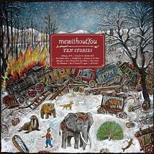 mewithoutYou Ten Stories Vinyl LP Record & MP3! me without you punk rock! NEW!!!