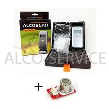 ETILOMETRO PORTATILE AL 7000 DELUX + Sensore Extra + 25 boccagli - ALCO-SERVICE