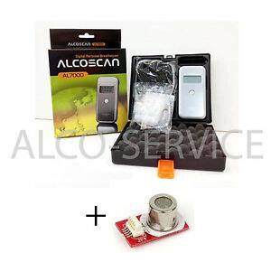 ETILOMETRO AL 7000 DELUX +1  Sensore + 25 boccagli + Certificato di Calibrazione
