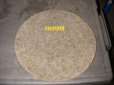 """STONE POLISHING DIAMOND PAD 16"""" YEL 8000 GRIT 3"""" HOLE (CC166_062513)"""