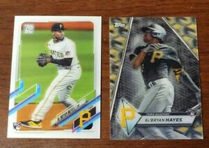 Lot x2 Ke'Bryan Hayes 2021 Topps 3D Baseball Rookie Class Motion Limited Edition