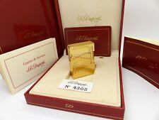 Genuine ST Dupont Lighter Small Gold Plated Ligne 1 New/Box/Papers
