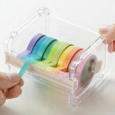New Desktop Tape Dispenser Tape Washi Tape Dispenser Holder 1PC Tape Roll O7L4
