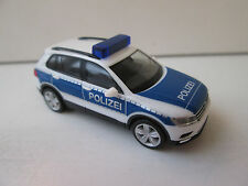 Herpa 092623 VW Tiguan policía 1:87