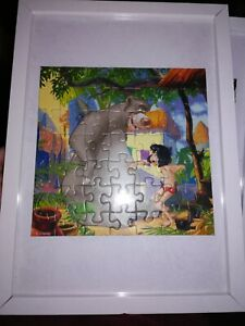 Vintage Jungle Book Jigsaw Puzzles, Framed, Mounted, very individual