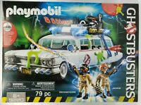 Playmobil 9220 ECTO 1 GHOSTBUSTERS Toy Bldg Set Lights Sounds 79 Pcs Ages 6+ NEW