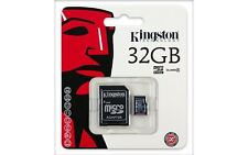 Class 4 Kingston 32GB Micro SD Flash Memory card for HP HTC Tesco Toshiba Tablet