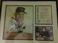 CAL RIPKEN JR. Framed photo and Art Print LIMITED EDITION Low # 452 Of 13000