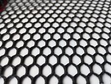 Polyester  Mesh, Seconds Grade, 1 metre x 150 cm wide  Black,  TF 102