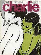 """""""CHARLIE MENSUEL N°95 / décembre 1976"""" Guido CREPAX : VALENTINA dans le métro"""