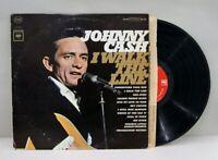 JOHNNY CASH I Walk The Line 1965 Stereo Original sleeve Vinyl LP, VG+/VG+ R-0077