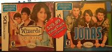 Brand New Sealed Disney JONAS & Wizards of Waverly Place Spellbound NDS DS games