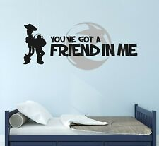 Custom Quote Toy Story Wall Decal Decor Sticker Vinyl Lettering CUSTOM M1278
