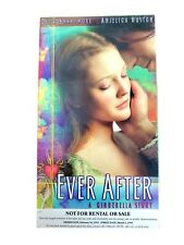 RARE COPY! Ever After: A Cinderella Story (VHS, 1999) Drew Barrymore Movie