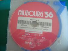 DVD  boitier slim FAUBOURG 36 (b8)