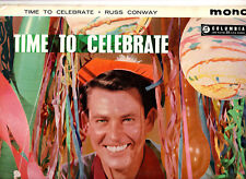 RUSS CONWAY.TIME TO CELEBRATE.UK ORIG 1959 (3N/3N) LP & INN/CO/SL.VG+/EX