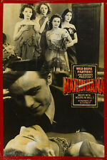 "Marihuana Exploitation Movie Poster Replica 13x19"" Photo Print"