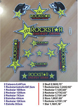 ADHESIVO PEGATINA STICKER DECAL AUFKLEBER AUTOCOLLANT ★ ROCKSTAR METAL MULISHA ★