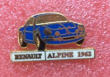 Pins ALPINE RENAULT 1962 Berlinette Voiture Car
