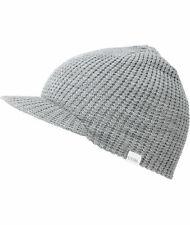 Coal Unisex Staple Brim Visor Bucket Hat Heather Grey One Size New