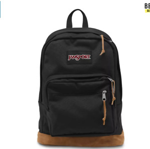 JANSPORT Right Pack Black Backpack TYP73