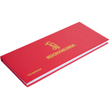 Kookaburra Cricket Scorebook Accessory Book - 60 & 100 Innings