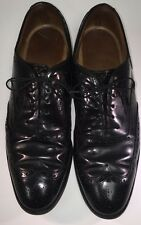 Johnson & Murphy Limited Made in USA Black Wingtip Mans Shoe Size 11