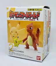 Pokemon Scale World 1/20 Bandai Charmeleon Pikachu 2 Sealed - 2019